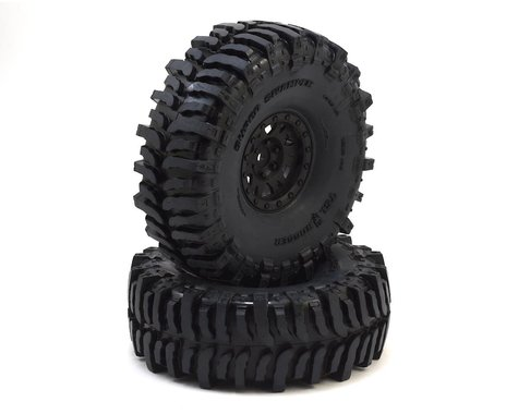 "Pro-Line Interco Bogger 1.9"" Tires w/Impulse Wheels (Black) (2) (G8)"