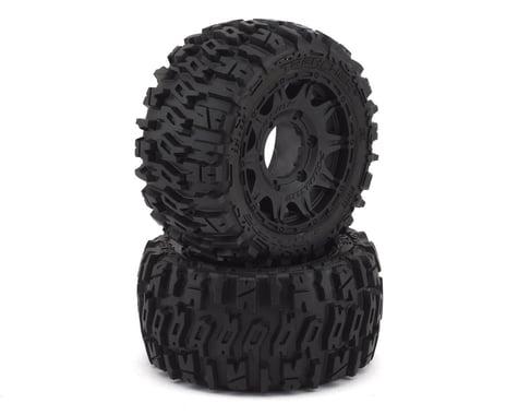 "Pro-Line Trencher Low Profile 2.8"" Tires w/Raid Rear Wheels (2) (Black) (M2)"