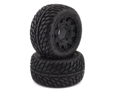 "Pro-Line Street Fighter LP 2.8"" Tires w/Raid Rear Wheels (2) (Black) (M2)"