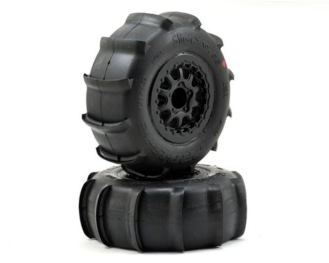 Pro-Line Sling Shot SC Tires w/Renegade Wheels (2) (Slash Rear) (M2)
