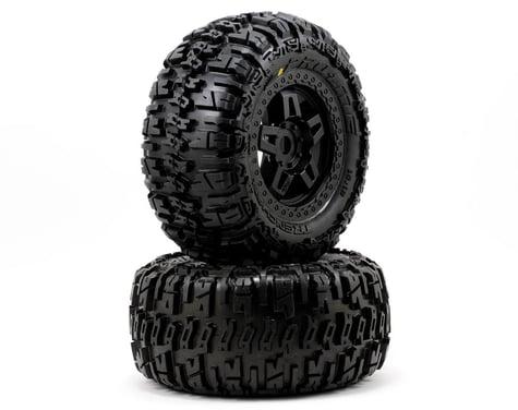 Pro-Line 40 Series Trencher Tire w/Tech 5 17mm Monster Truck Wheel (2)