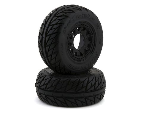 Pro-Line Street Fighter SC 2.2/3.0 Tires w/Raid Wheels (Black) (2) (M2)