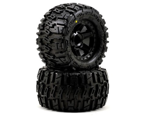 "Pro-Line Trencher 2.8"" Tires w/Desperado Nitro Rear Wheels (2) (Black) (M2)"