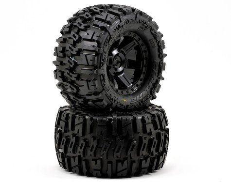 "Pro-Line Trencher 2.8"" Tires w/Desperado Electric Rear Wheels (2) (Black) (M2)"