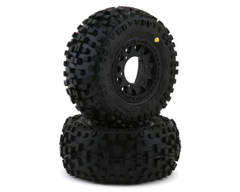 Pro-Line Badlands SC 2.2/3.0 Tires w/Raid Wheels (Black) (2) (M2)