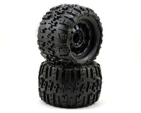 "Pro-Line Trencher X 3.8"" Tire w/F-11 17mm 1/2"" Offset MT Wheel (2) (Black) (M2)"