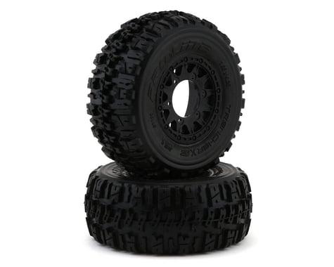 Pro-Line Trencher X SC 2.2/3.0 Tires w/Raid Wheels (Black) (2) (M2)