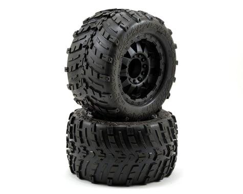 """Pro-Line Shockwave 3.8"""" Tire w/F-11 17mm 1/2"""" Offset MT Wheel (2) (Black)"""