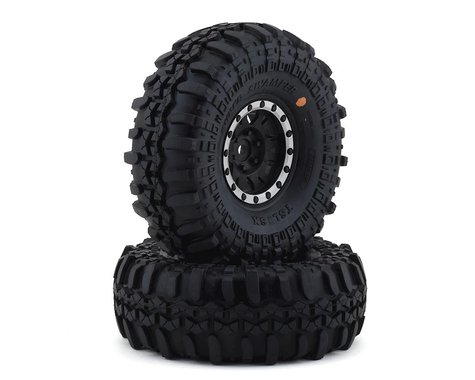 Pro-Line Interco Super Swamper 1.9 Tires w/Impulse Wheels (Black/Silver) (2) (G8)