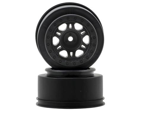 Pro-Line Split Six One-Piece Short Course Rear Wheels (Black) (2)