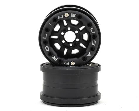 Pro-Line FaultLine 2.2 6 Lug Bead-Loc Crawler Wheels (2) (Black/Black)