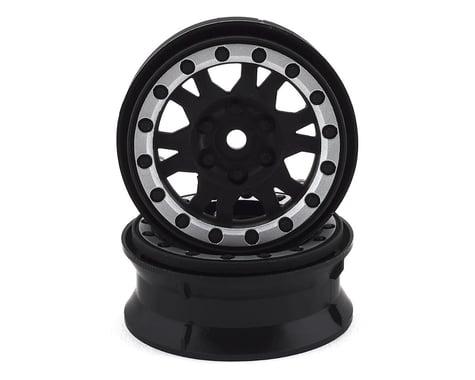 "Pro-Line Impulse 1.9"" Bead-Loc Wheels (Black/Silver) (2)"
