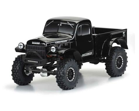 "Pro-Line 1946 Dodge Power Wagon 12.3"" Tough-Color Rock Crawler Body (Black)"