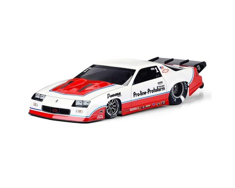 Pro-Line 1985 Chevrolet Camaro IROC-Z No Prep Drag Racing Body (Clear)