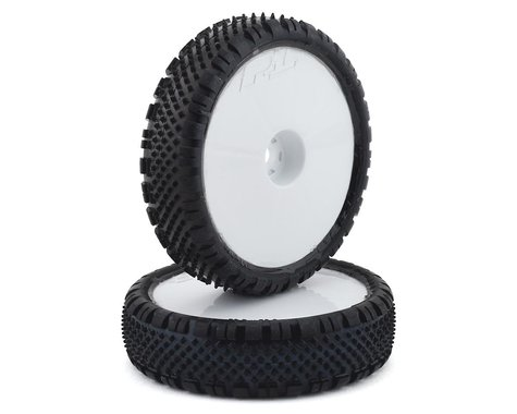 "Pro-Line Prism 2.2"" 2WD Front Buggy Pre-Mounted Carpet Tires (White) (2) (Z3)"