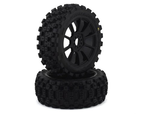 Pro-Line Badlands MX Pre-Mounted 1/8 Buggy Tires (Black) (2) (M2)