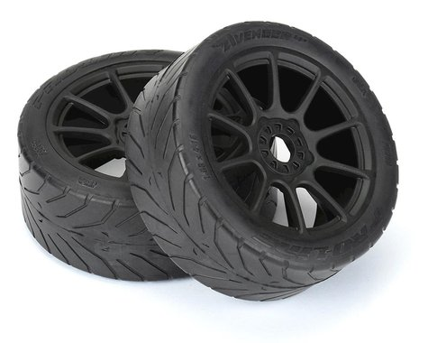 Pro-Line Avenger HP Belted Pre-Mounted 1/8 Buggy Tires (2) (Black) (S3)