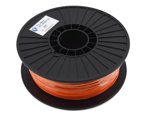 Push Plastic 1.75mm PLA 3D Printer Filament (Orange) (1.0kg)
