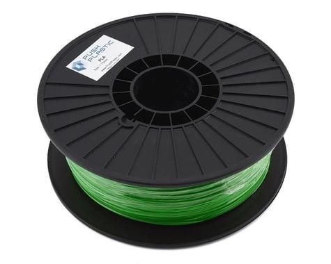 Push Plastic 1.75mm PLA 3D Printer Filament (Green) (1.0kg)