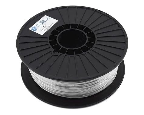 Push Plastic 1.75mm PLA 3D Printer Filament (Silver Metallic) (1.0kg)
