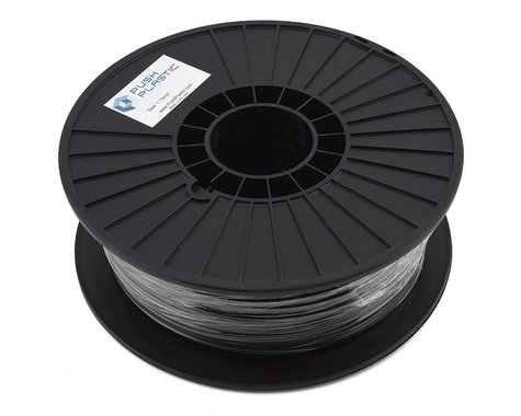 Push Plastic 1.75mm PETG 3D Printer Filament (Black) (.75kg)