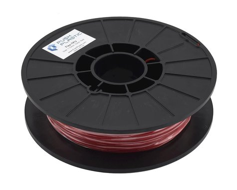 Push Plastic 1.75mm TPU 3D Printer Filament (Red) (.5kg)