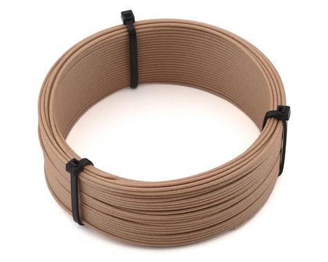 Push Plastic 1.75mm PLA 3D Printer Filament Woodfill Sample (.1kg)