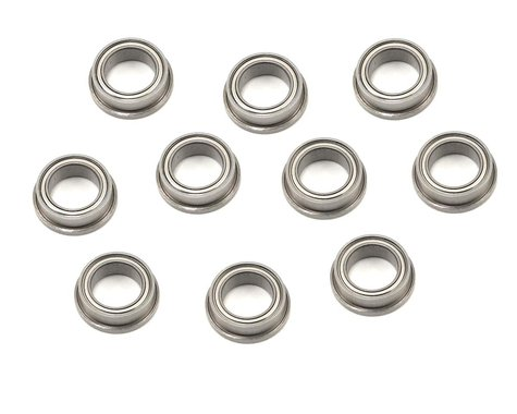 "ProTek RC 1/4x3/8x1/8"" Metal Shielded Flanged ""Speed"" Bearing (10)"