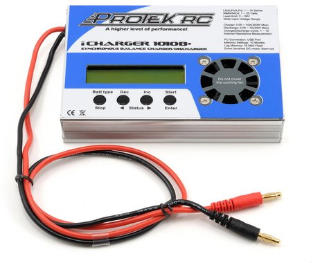 ProTek RC iCharger 1010B+ Lilo/LiPo/Life/NiMH/NiCD DC Battery Charger (10S/10A/300W)