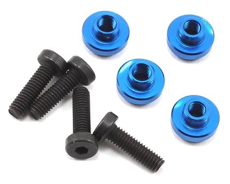 ProTek RC Aluminum Servo Mount Grommet (Blue) (4)