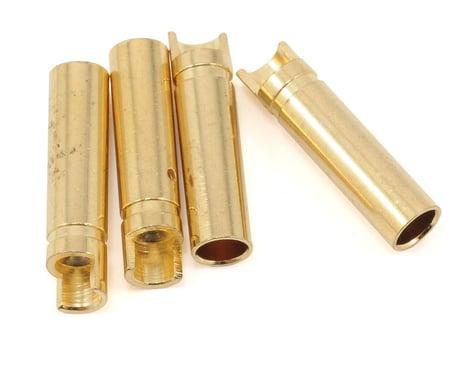 "ProTek RC 4.0mm ""Super Bullet"" Solid Gold Connectors (4 Female)"