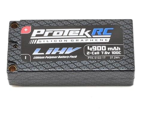 ProTek RC 2S 100C Silicon Graphene HV Shorty LiPo Battery (7.6V/4900mAh)
