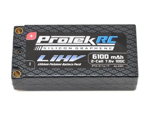 ProTek RC 2S 100C Silicon Graphene HV Shorty LiPo Battery (7.6V/6100mAh)