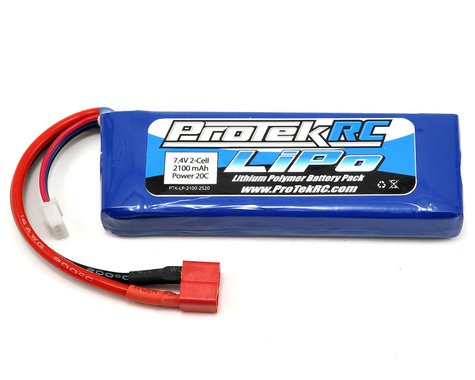 ProTek RC 2S LiPo 20C Battery (7.4V/2100mAh) (Receiver Battery)
