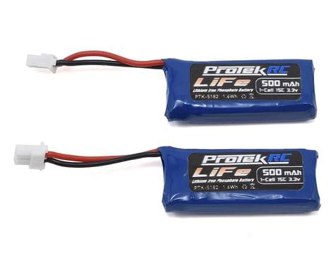 ProTek RC 2x1S Sport Race 15C Stick LiFe Battery (3.3V/500mAh) (Kyosho Mini-Z)