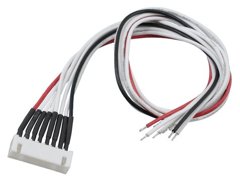 ProTek RC 7S Female XH Balance Connector w/30cm 24awg Wire