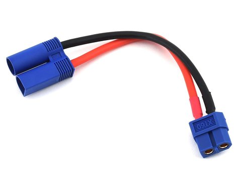ProTek RC Heavy Duty EC5 Charge Lead Adapter (Male EC5 to Female XT60)
