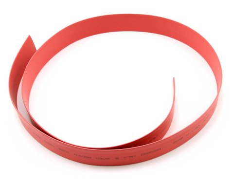 ProTek RC 15mm Red Heat Shrink Tubing (1 Meter)