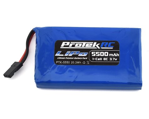 ProTek RC 1S High Capacity Sanwa M17 LiPo Transmitter Battery (3.7V/5500mAh)