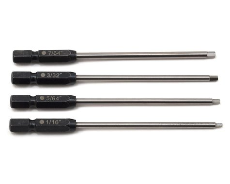 "ProTek RC TruTorque Standard Power Tool Tip Set (4) (1/16"", 5/64"", 3/32"", 7/64"")"