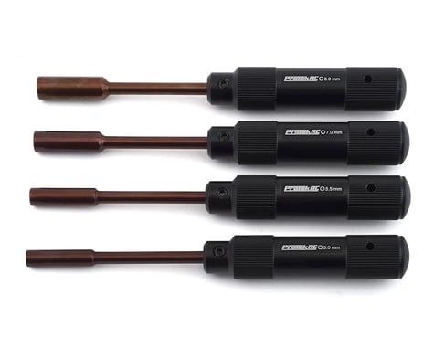 ProTek RC 4-Piece Metric Nut Driver Set (5.0, 5.5, 7.0, 8.0mm)