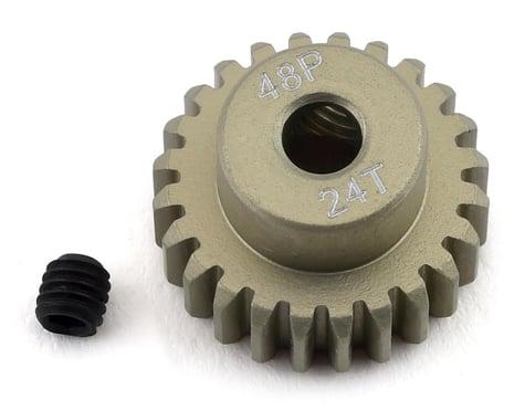 ProTek RC 48P Lightweight Hard Anodized Aluminum Pinion Gear (3.17mm Bore) (24T)