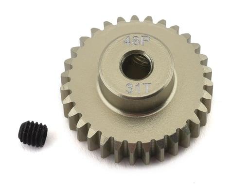 ProTek RC 48P Lightweight Hard Anodized Aluminum Pinion Gear (3.17mm Bore) (31T)