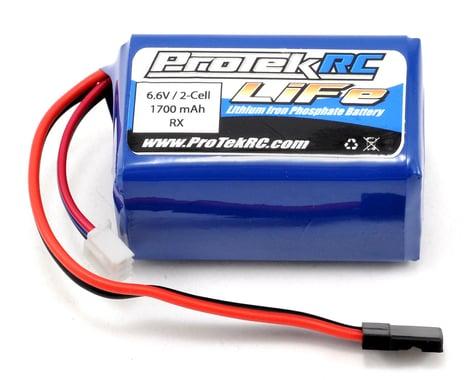 ProTek RC LiFe Hump Receiver Battery Pack (6.6V/1700mAh) (w/Balancer Plug)
