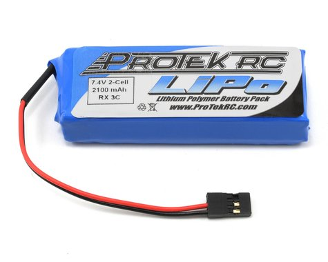 ProTek RC Li-Poly 3C Stick Receiver Battery Pack (7.4V/2100mAh) (No Balance)