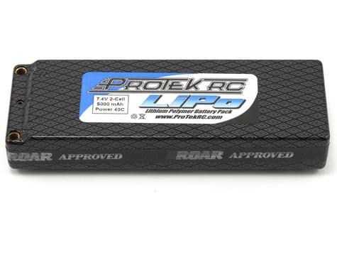 """ProTek RC 2S """"Supreme Power"""" Li-Poly 40C Hard Case Battery Pack (7.4V/5000mAh) (ROAR Approved)"""
