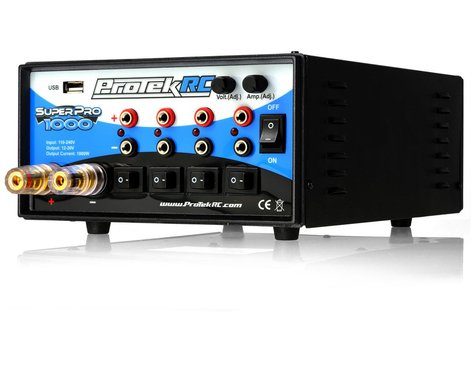 "ProTek RC ""Super Pro 1000"" Five Output World Edition Power Supply w/USB Port (30V/40A/1000W)"