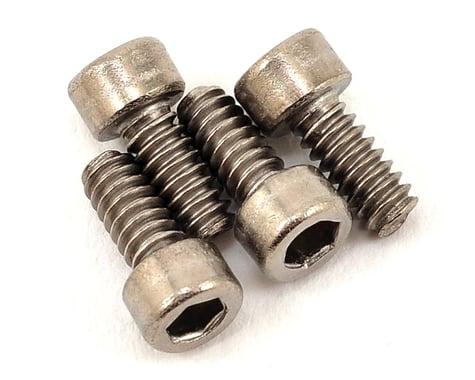 """ProTek RC 4-40 x 1/4"""" Titanium Cap Head Hex Screw (4)"""