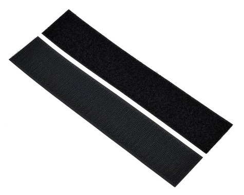 """Pure-Tech 1 1/2"""" Super Stick Hook & Loop Strap Set (Black) (1 Hook/1 Loop)"""