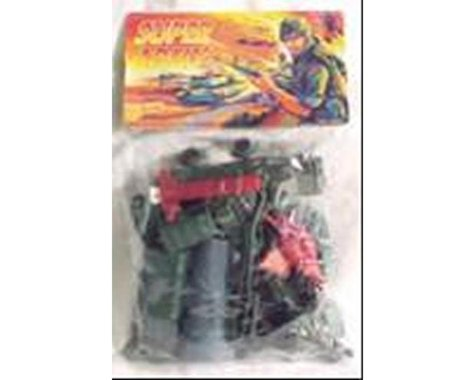 BMC Toys 54mm Modern Super Army Playset (72pcs) (Bagged) (A